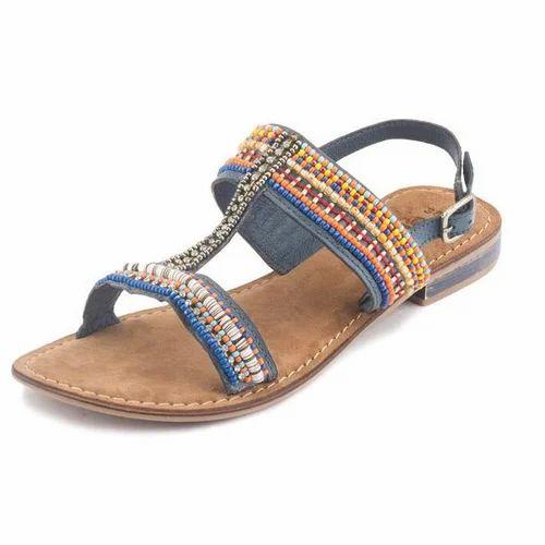 c2d9a0eddee Gekko Denim Multi Flat Sandals at Rs 1709  piece