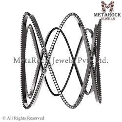 Micro Pave Daimond Bangle Jewellery