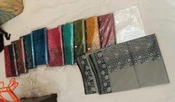 Banarasi Silk Saree hand work