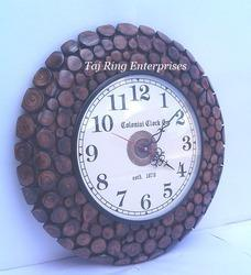 Vintage Nautical Wooden Clock