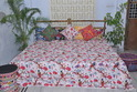 Hand Made Kantha Cotton Printed Quilt
