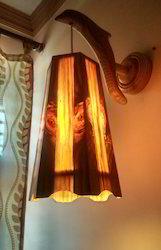 Octa Curvy Long Hanging Wall Light