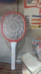 Plastic Mosquito Racket, Size: 12inch