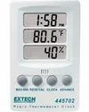 Hygro Thermometer Clock