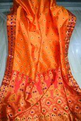 Assam Silk Designer Saree