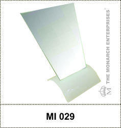 Acrylic Table Top Counter Mirror Stand