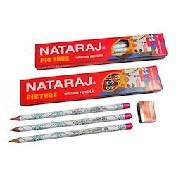 Nataraj Picture Pencil (10 Pencil 1 Sharpener)
