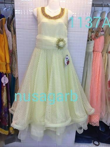 b728013d96 22-32 & 34-38 Multi Colors Designer Long Party Dress, Rs 1650.00 ...