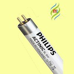 8W Actinic BL Philips Tube Light
