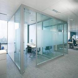 Modular Glass Partition