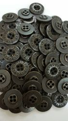 Round Metal Jeans Button, Packaging Type: Packet