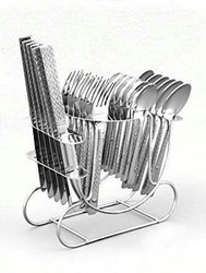 25 Pcs Hanging Cutlery Set