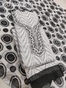 Black White Salwar Suit