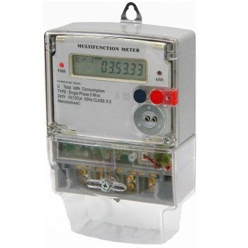 Single Phase Electric Meter at Rs 750 /piece(s) | Electric Meters ...
