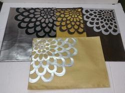 Side Flower Soft Leather Mat