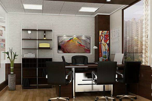 Modern Office Cabin Designs And Decoration in Malad West Mumbai