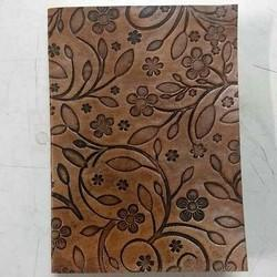 Genuine Leather Floral Design Diary DIRYL113