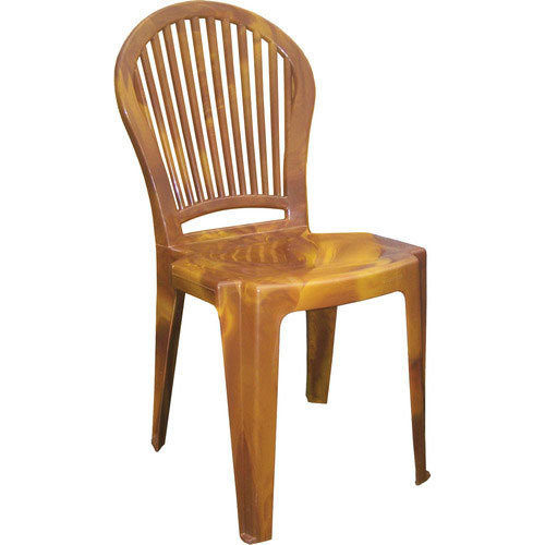 Plastic Armless Chair, For Indoor And Outdoor