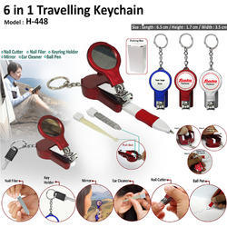 6 in 1 Traveling Keychain H-448