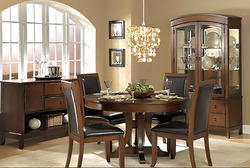 Classic Wooden Dining Table Set