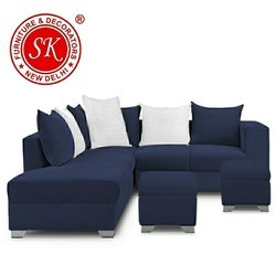 Blue Sofa Set