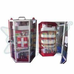 Steel First Aid Kit