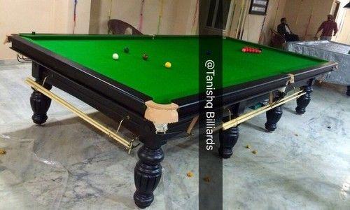 Tanishq Billiards Solid Wood British Billiards Table Rs Set - British pool table