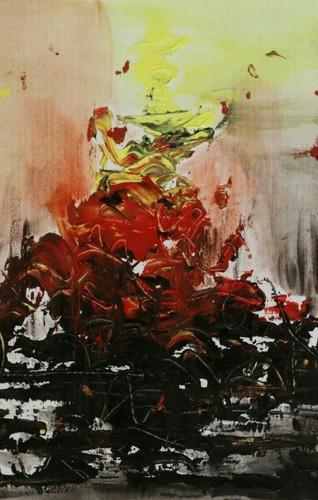 Abstract Paintings Celebrate Life