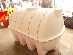 1kl to 25kl White Capsule Water Tank