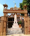Marble Mandir Gate Construction