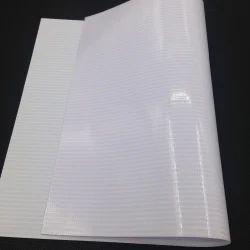 White PVC Star Flex Banner