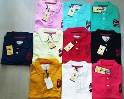 Printed Full Sleeves Men''''S Branded Polo T Shirts, Size: Medium