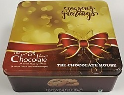 Printed Chocolate Tin Container