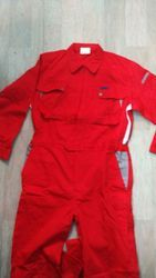 Red Fire Retardant Coverall