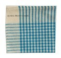 Blue Cotton Cleaning Duster