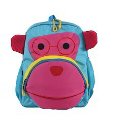 Blue & Pink Small School Bag