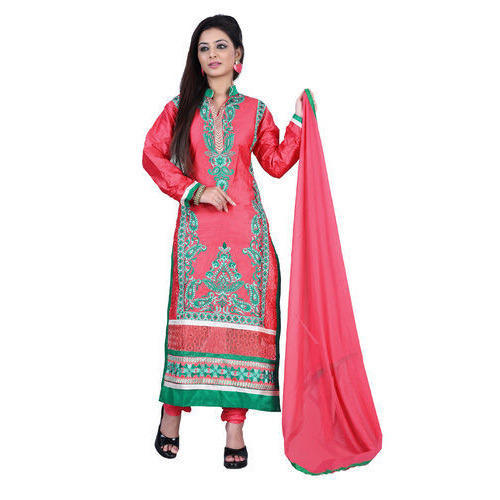 26f5e7d94e Party Wear Ladies Georgette Unstitched Suit, Rs 200 /piece | ID ...
