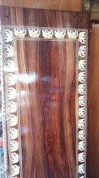 Elephant Inlay Rosewood Swing