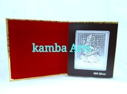 Kamba Arts Sliver Silver Acrylic Folder, Packaging Type: Box, for Gift