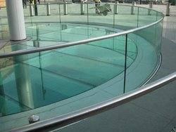 Transparent Toughened Glass, Size: 10-50 Square Feet, Shape: Flat