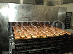 Bun Baking Tunnel Oven