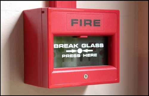 Manual Call Point Fire Alarm System And Panel Btm 2nd