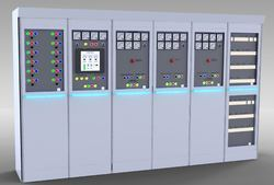 Iron Three Phase Electrical Panels, IP Rating: IP55
