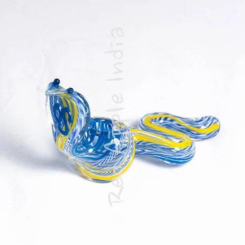 Glass Snake Smoking Pipe