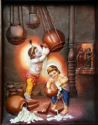 Krishna Fiber Mural