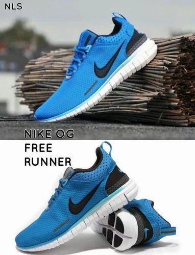 Men Rubber Nike Oz Running Shoe, Size