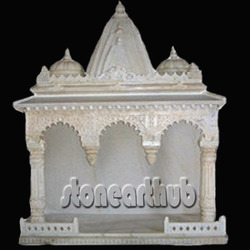 Stone Temple Marble Mandir Manufacturer From Makrana
