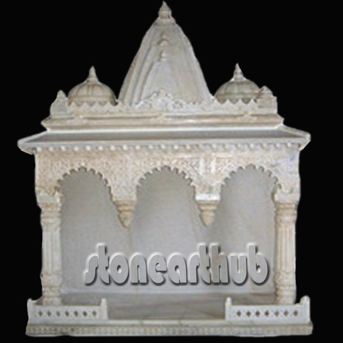 Makrana White Marble Temple At Rs 65000 Piece वाइट