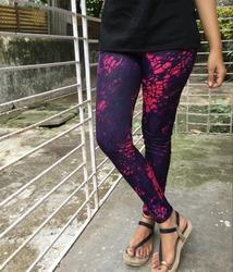 Printed Polyester Ankle Length Leggings