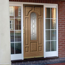 Rosewood And Sandalwood GRP Doors
